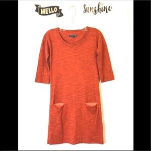 Rag and Bone Knit Dress with Pockets - XS